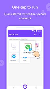 Multichat - 2 account & app cloner 5.17.00 APK