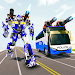 Bus Robot Car Transform War –Police Robot games