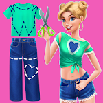 Cover Image of Download DIY Fashion Star - Design Hacks Clothing Game APK