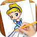 Download Learn To Draw Princess, Queens APK