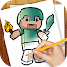 Download Learn to Draw Minecraft APK