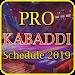Download Kabaddi Schedule 2019 APK
